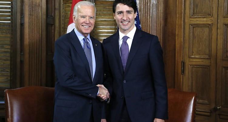 Trudeau sera le premier dirigeant étranger avec qui Biden échangera