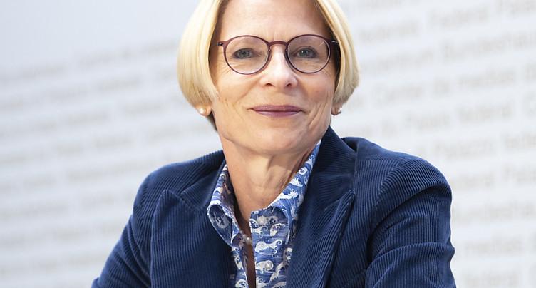 Livia Leu rencontre des représentants de l'UE à Bruxelles