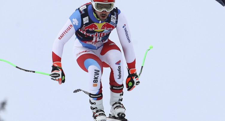 Feuz 14e du dernier entraînement, Janka cinquième à Kitzbühel