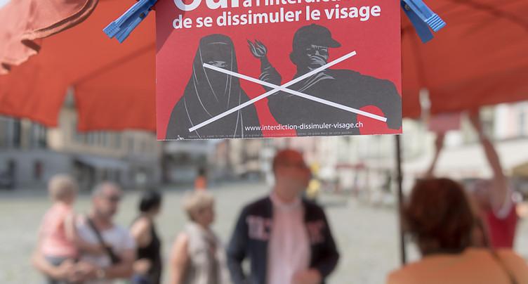 Les Suisses ont des avis tranchés sur l'initiative anti-burqa