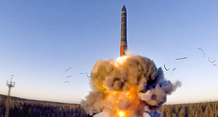 Armes nucléaires: traité d'interdiction en vigueur sans la Suisse