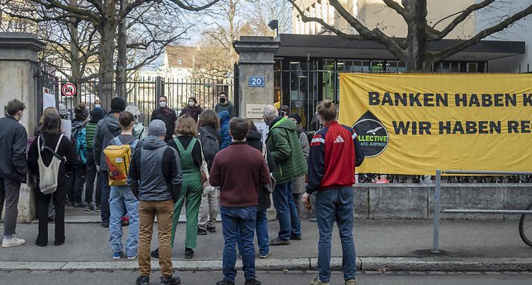 Militants pour le climat acquittés à Bâle