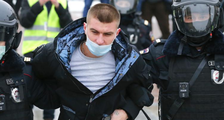 Des dizaines d'arrestations lors de manifestations pour Navalny