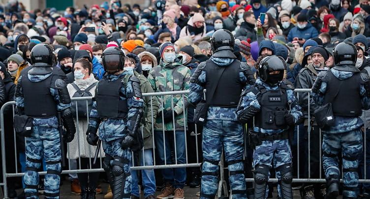 L'épouse de Navalny interpellée - Plus de mille personnes arrêtées