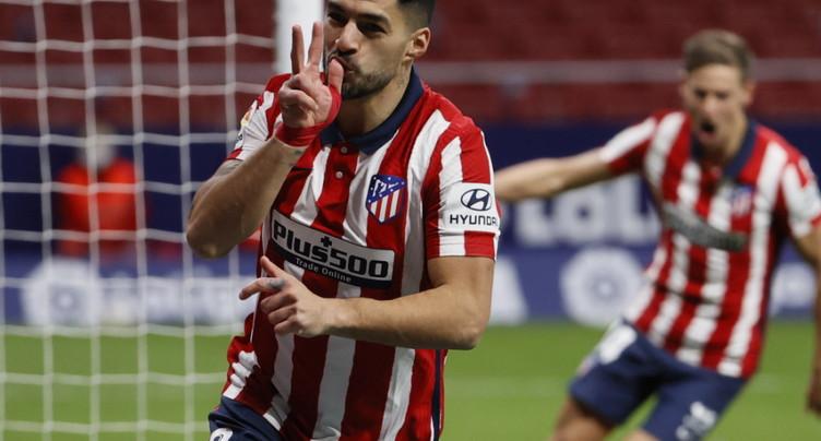 L'Atlético poursuit son rythme endiablé