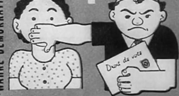 Le Ciné-Journal n'a pas parlé du droit de vote des femmes en 1971