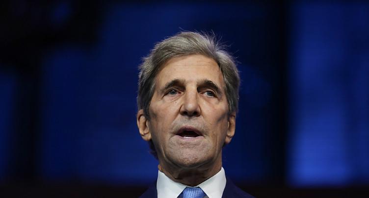 Kerry « regrette » l'absence des Etats-Unis dans la lutte