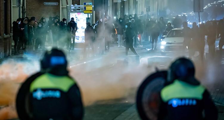 Pays-Bas: deuxième nuit d'émeutes