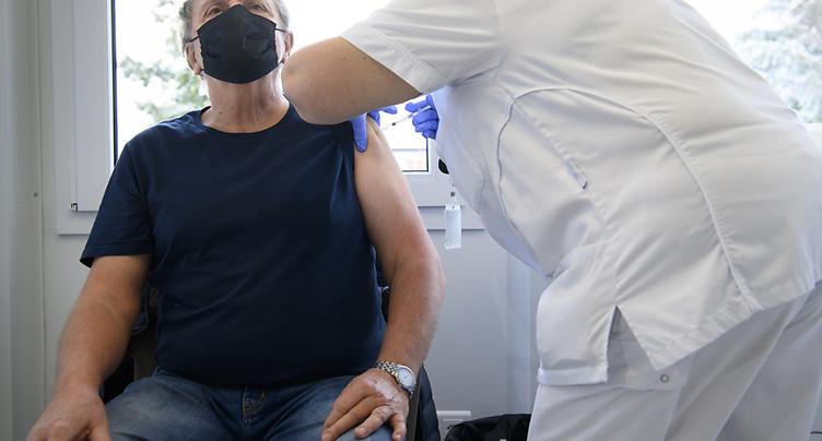 La Suisse a réalisé 197'368 vaccinations jusqu'à présent
