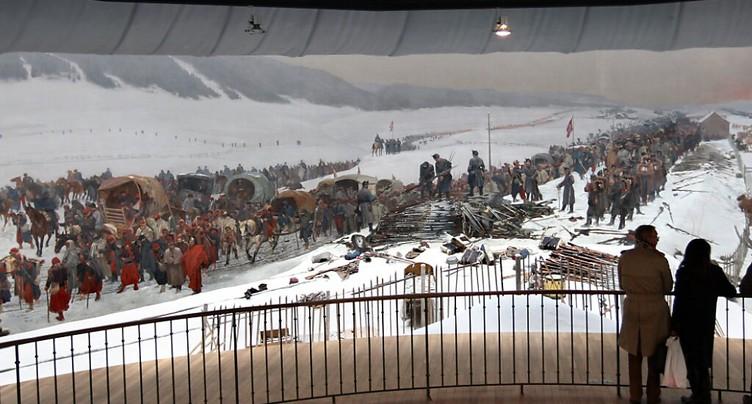 Exposition pour les 150 ans de l'entrée des Bourbakis en Suisse