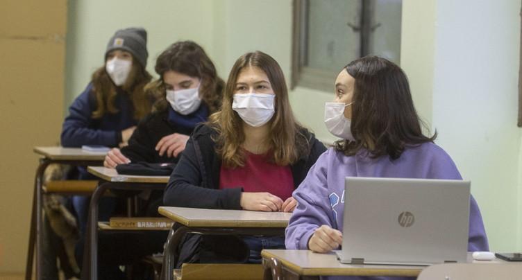 Pas de propagation rapide du Covid-19 dans les écoles