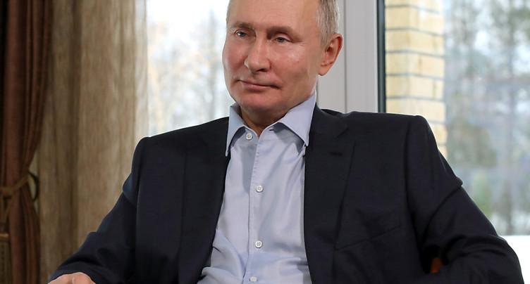Poutine salue « un pas » après l'accord sur le nucléaire avec Biden