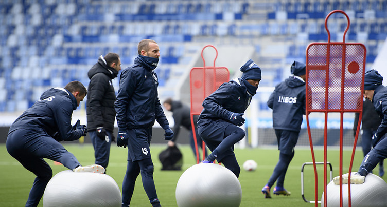 Le Lausanne-Sport en quarantaine, match reporté