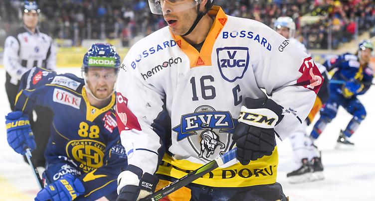 Raphael Diaz jouera bien à Fribourg-Gottéron