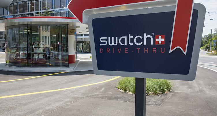 Swatch encaisse une perte annuelle de 53 millions de francs