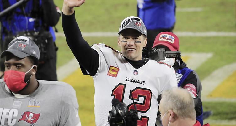 Brady n'exclut pas de continuer à jouer au-delà de 45 ans