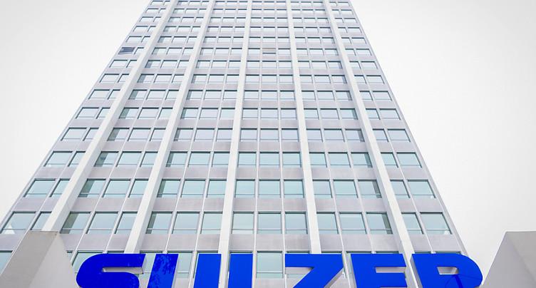 Sulzer affiche une performance en repli en 2020