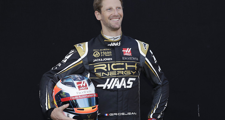 Romain Grosjean reprend le volant 3 mois après son accident en F1