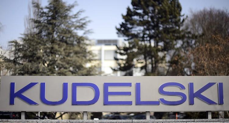 Perte moins importante pour Kudelski en 2020