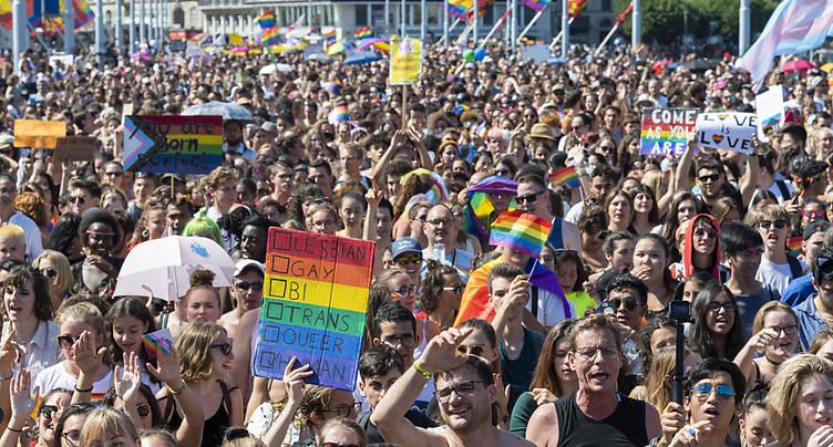 Geneva Pride 2021: la grande Marche des Fiertés prévue en septembre