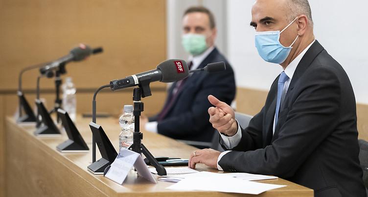 Vaccination dans un home en Argovie en présence d'Alain Berset