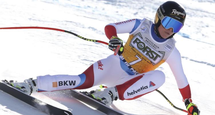 Coup double pour Lara Gut-Behrami