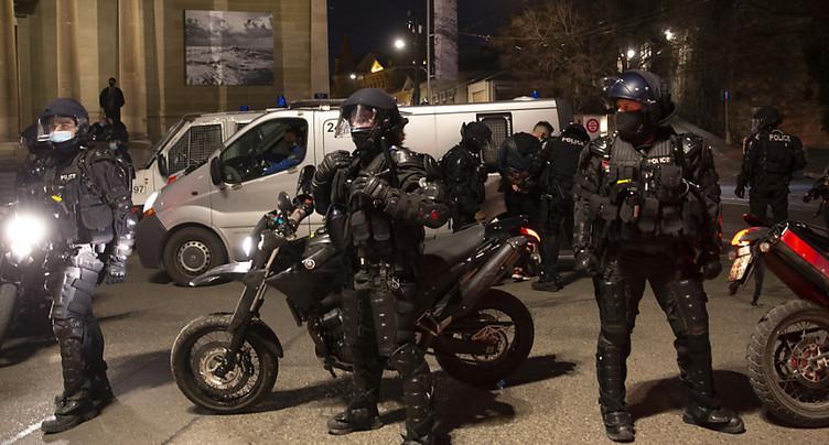 Plus de 150 manifestants contre les restrictions à Genève