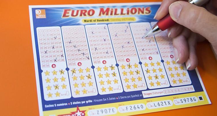 Un Suisse empoche 230 millions à l'Euromillions