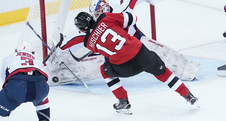 Un but et un assist pour Nico Hischier