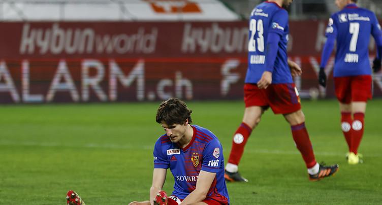 Une défaite sans appel pour le FC Bâle