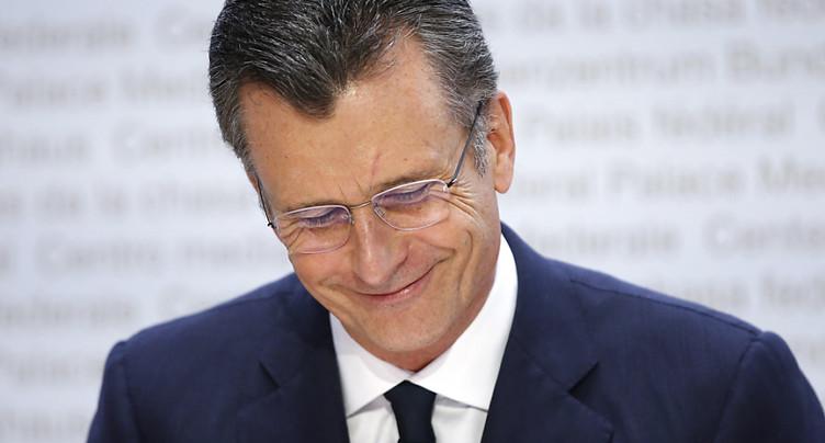 La Suisse a perdu beaucoup d'aura internationale, estime Hildebrand