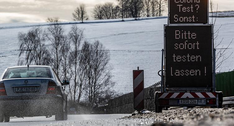 L'Allemagne restreint les passages à la frontière française