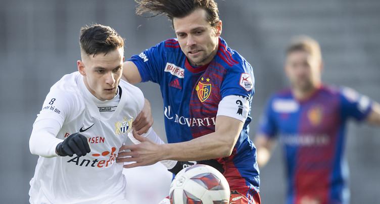 Le capitaine du FC Bâle, Valentin Stocker suspendu provisoirement