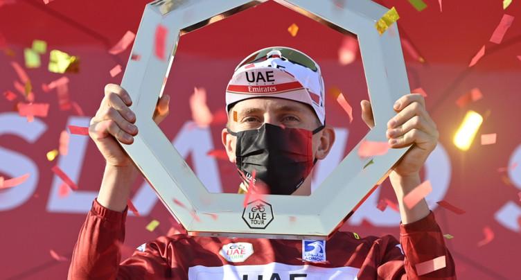Tadej Pogacar prolonge jusqu'en 2026 avec UAE Team