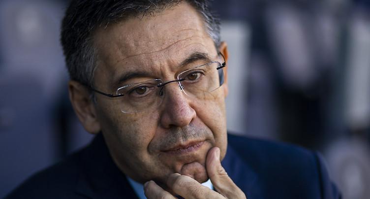 Liberté provisoire pour l'ex-président du Barça Bartomeu