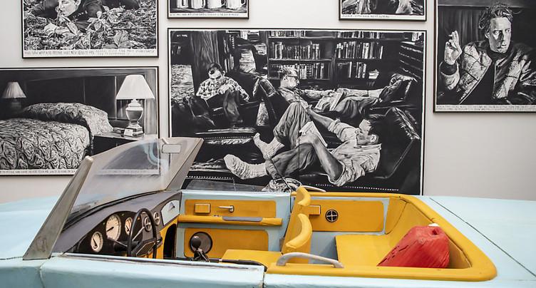 Rinus Van de Velde au Kunstmuseum de Lucerne