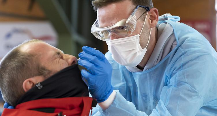 La Suisse compte 1223 nouveaux cas de coronavirus en 24 heures
