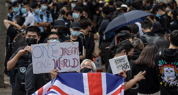 Hong Kong: troisième jour d'audience pour des dizaines de militants