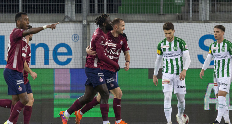 Super League: premier succès de Servette à Saint-Gall depuis 2002