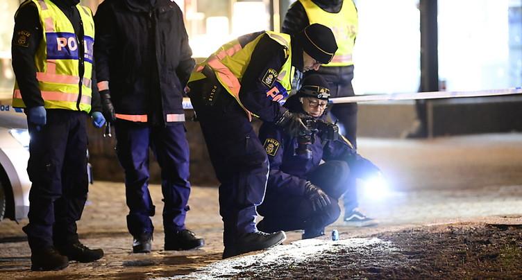 Attaque terroriste présumée en Suède: huit personnes blessées