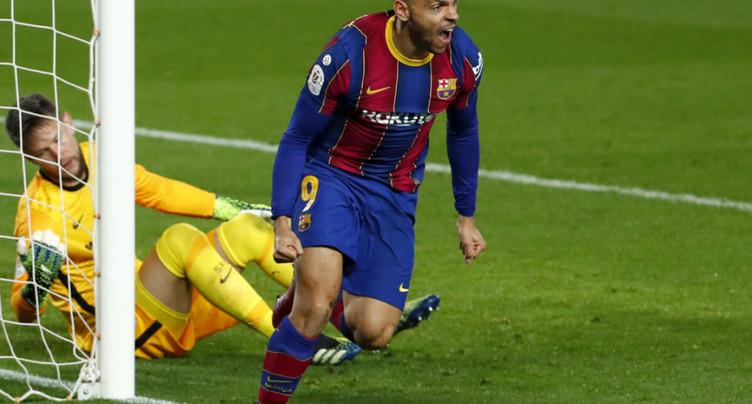 Espagne: Barcelone qualifié pour la finale de la Coupe