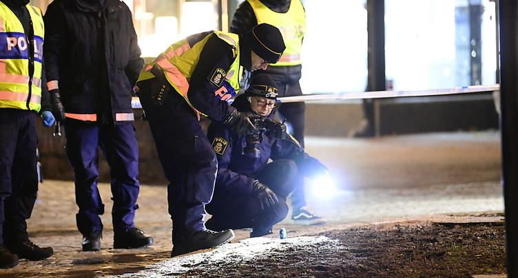 Sept blessés dans l'attaque à l'arme blanche en Suède