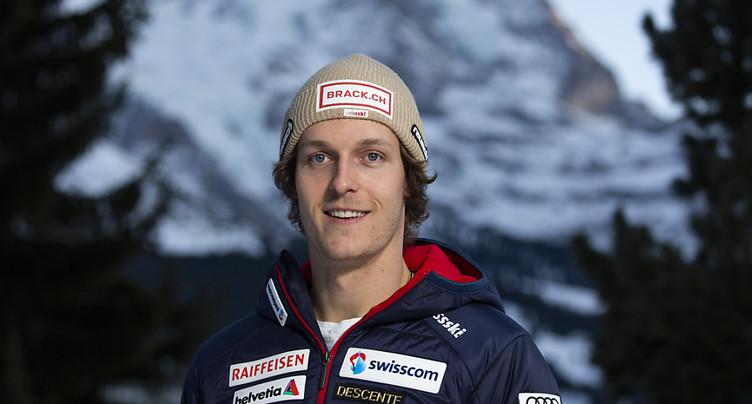 Ralph Weber et Beat Feuz les meilleurs Suisses à l'entraînement