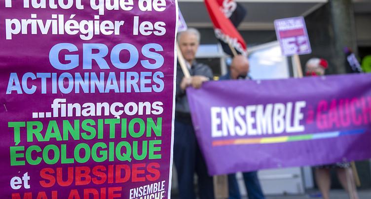 Nouvelle initiative à Genève pour taxer l'ensemble des dividendes