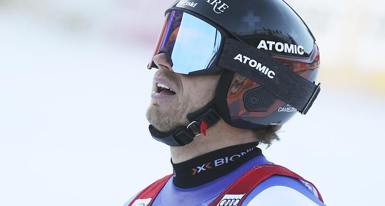 Coupe du monde: Mauro Caviezel ne skiera plus cet hiver
