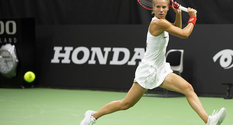 Viktorija Golubic encore victorieuse