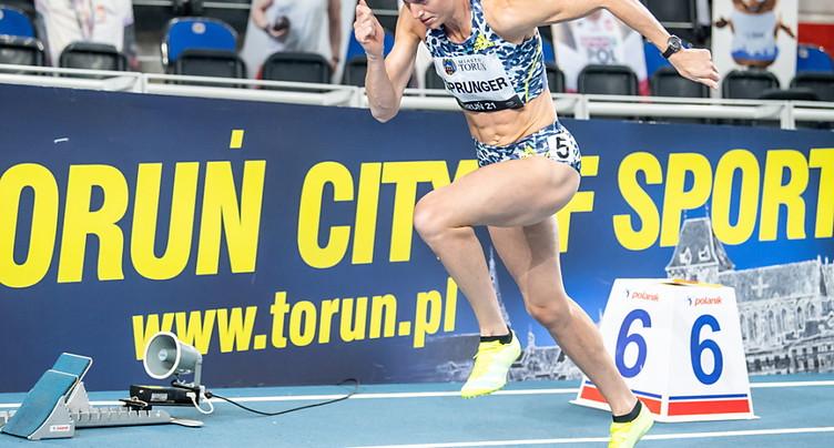 Lea Sprunger passe en demi-finales du 400 m