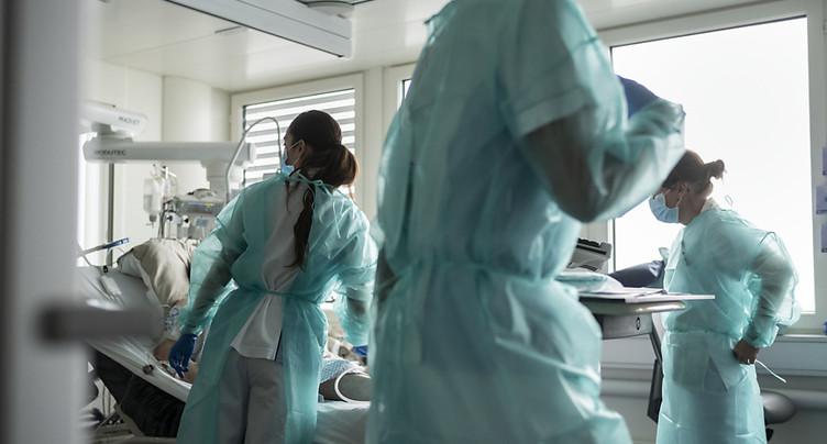 La Suisse compte 1222 nouveaux cas de coronavirus en 24 heures