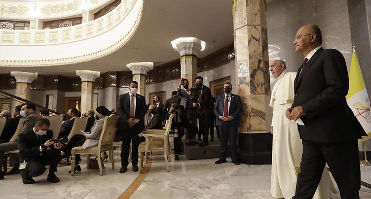 Le pape François se rend pour une visite historique en Irak