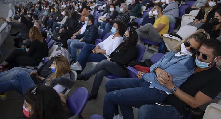 Premier concert en plein air à Tel-Aviv pour spectateurs vaccinés